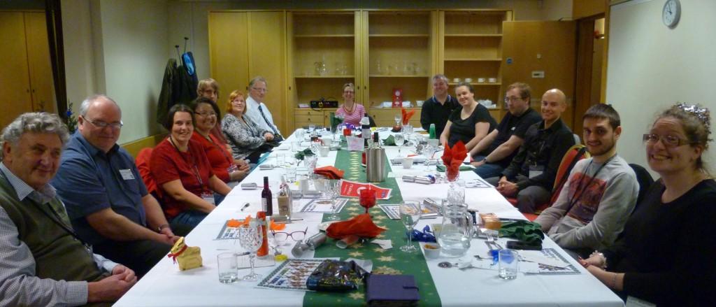 Christmas meeting 2014