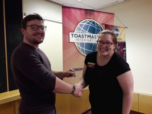 Hat trick of Competent Communicator awards