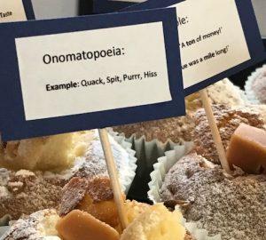 Grammar Cakes at Shropshire Speakers