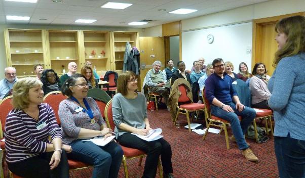 Shropshire Speakers Toastmasters meeting