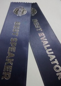 speaker evaluator ribbon